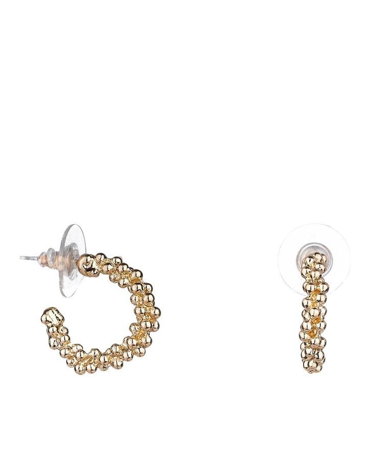3/4 Hoop Earrings image 1