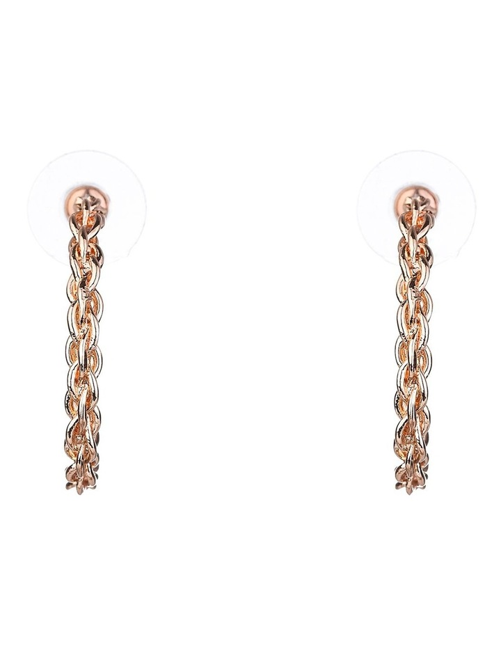 Twisted Hoop Earring image 1
