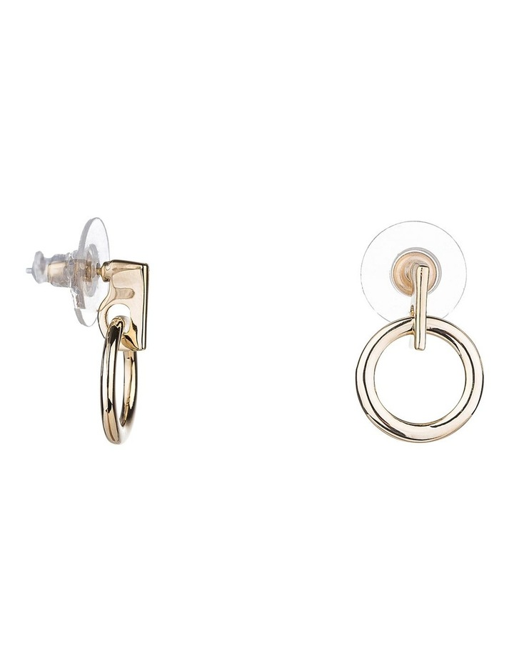 Circle Drop Earring image 1