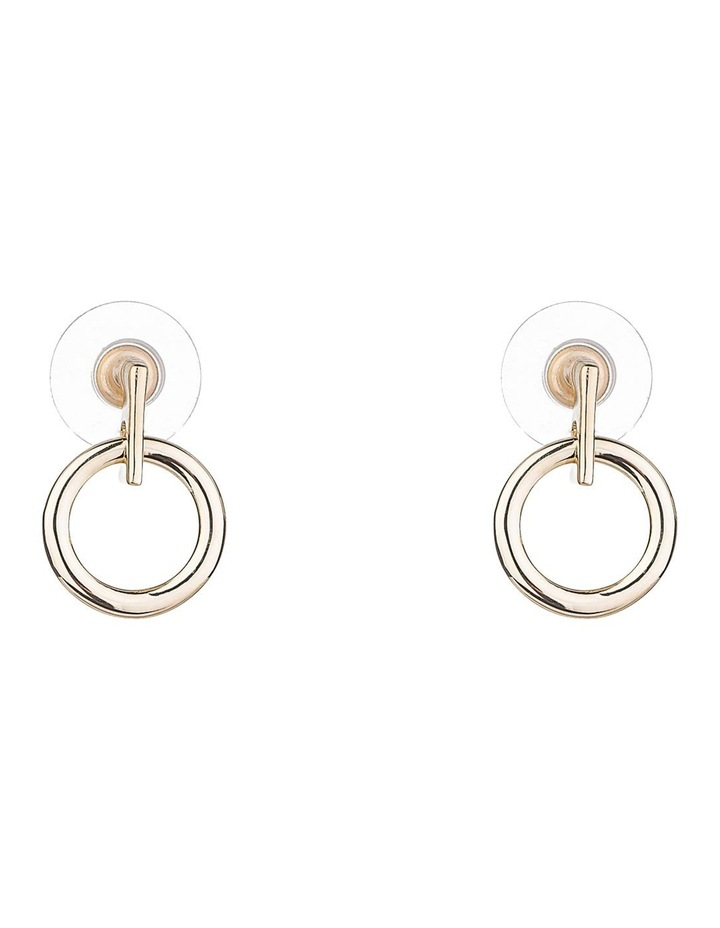 Circle Drop Earring image 2