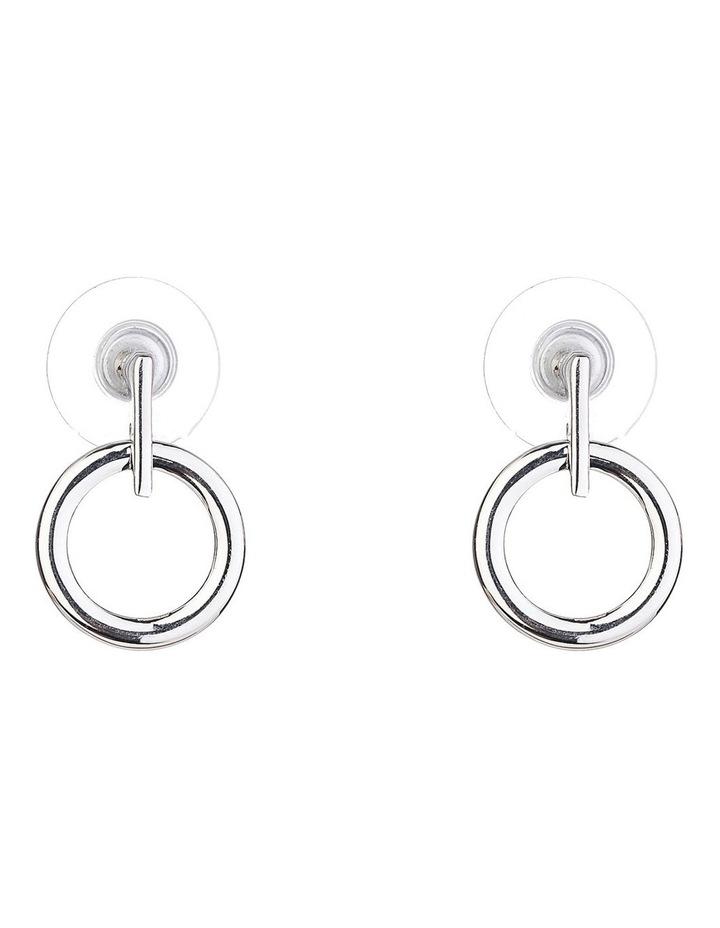 Circle Drop Earring image 1
