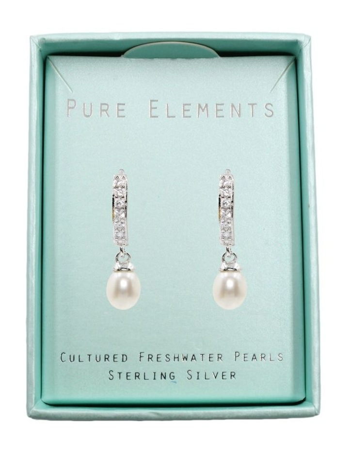 Pearl Charm Earrings image 3