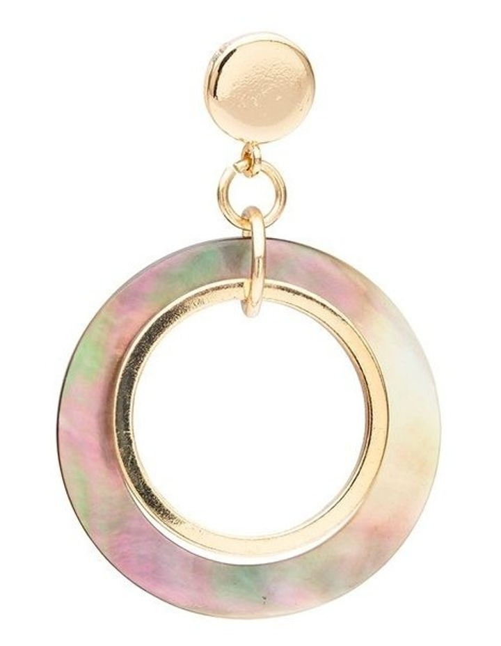 Ring Shell & Metal Earring image 3