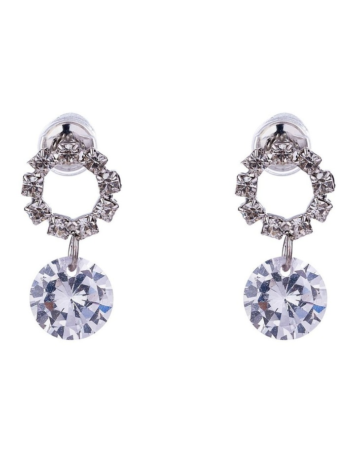 Drop CZ Earrings image 1