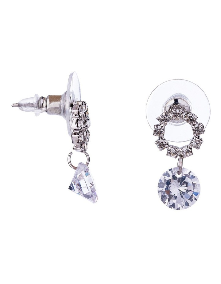 Drop CZ Earrings image 2