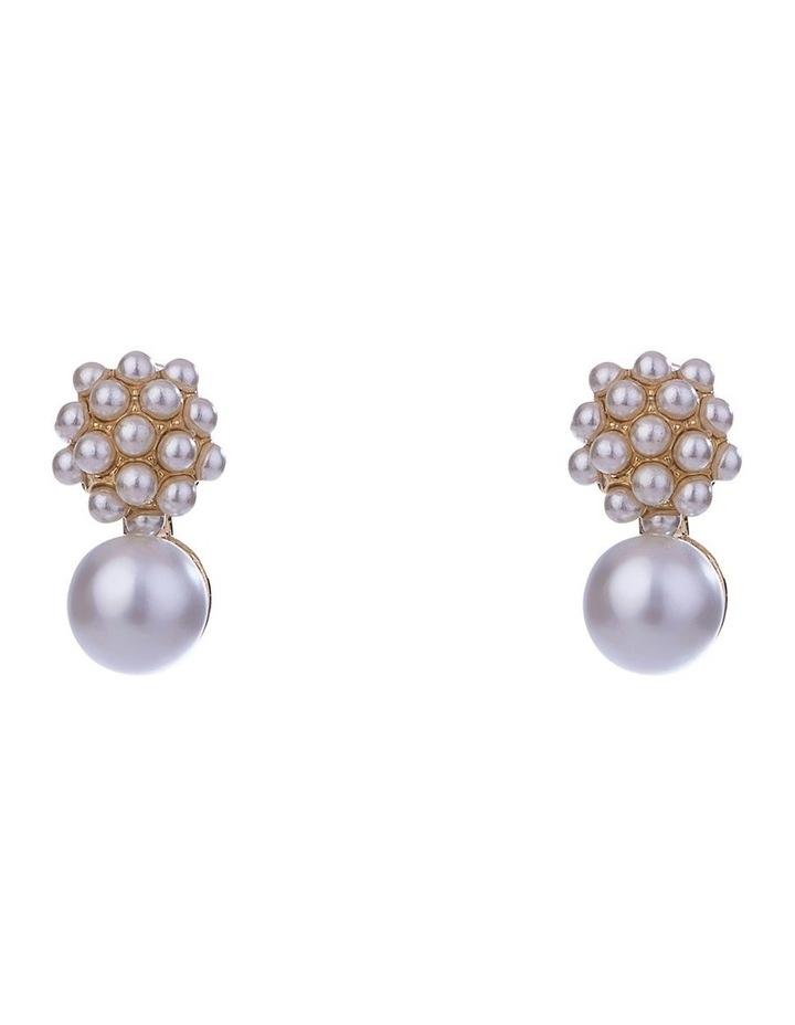 Micro Pearl Earrings image 2