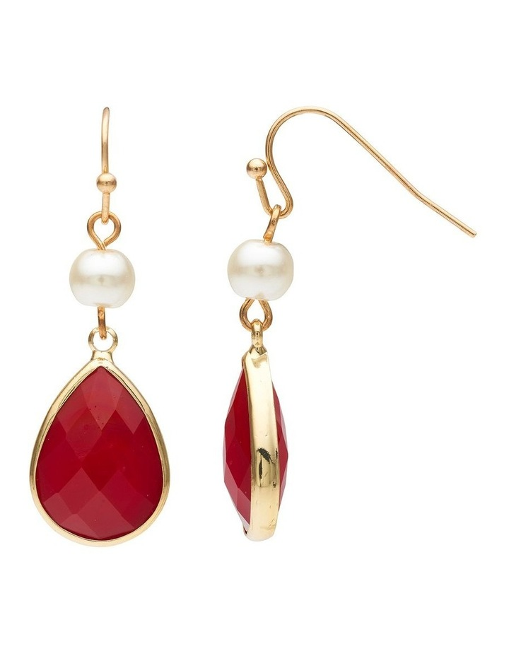 Pearl & Stone Earring image 2