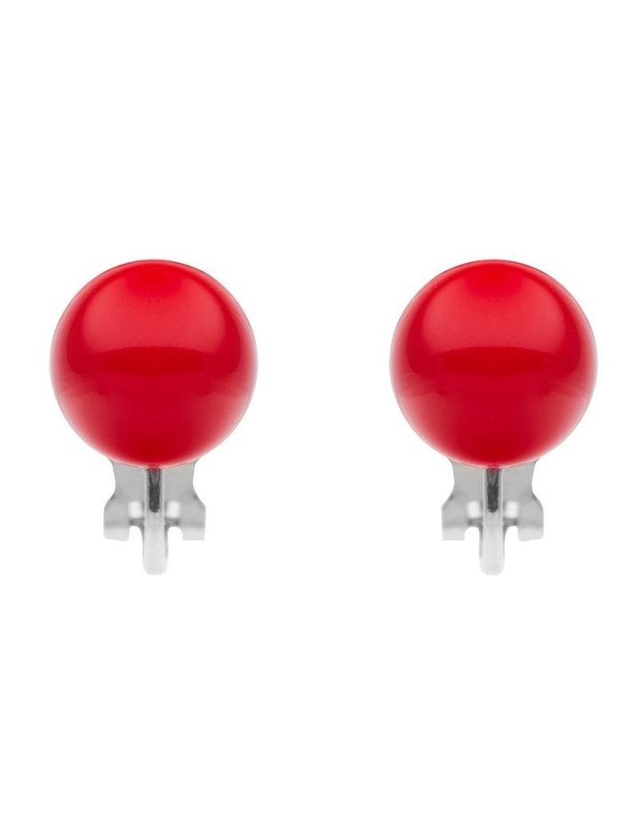 Solid Ball Clip Earring image 1