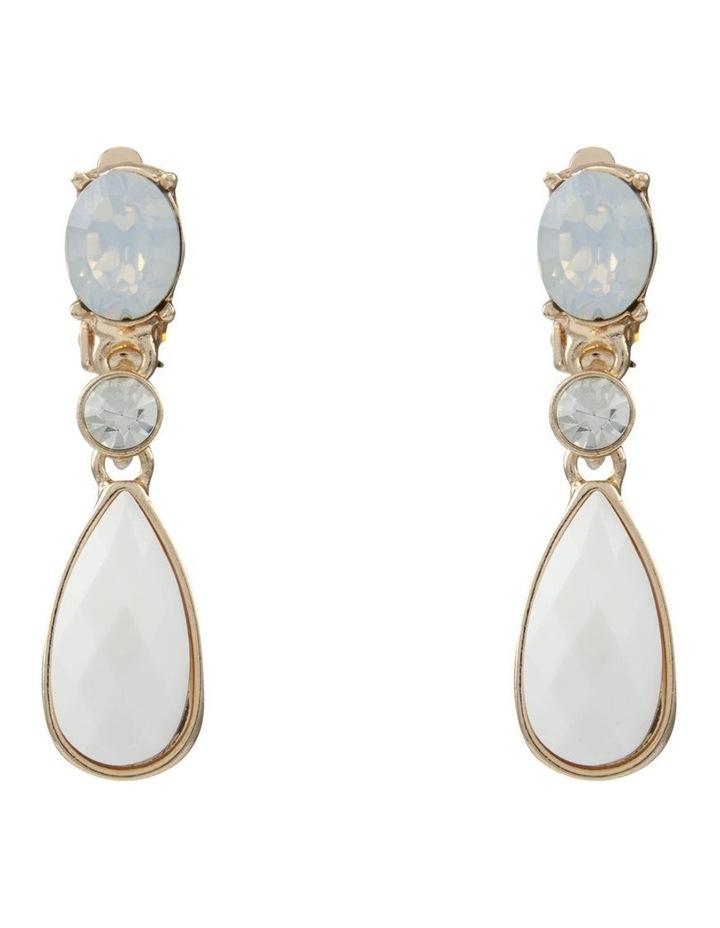 Noble White  Earring image 1