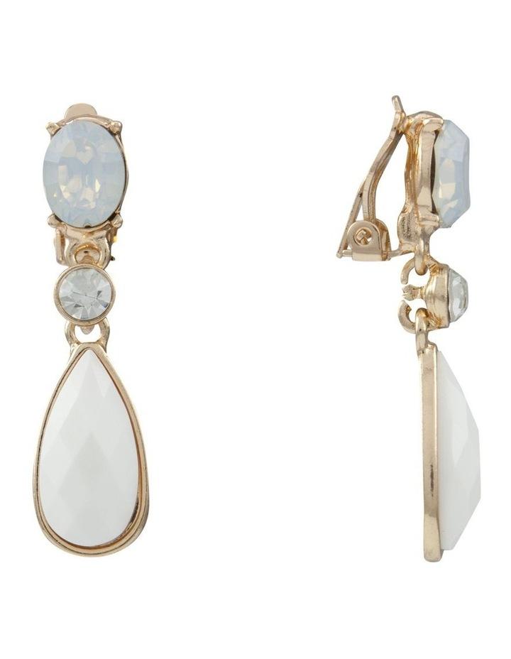 Noble White  Earring image 2