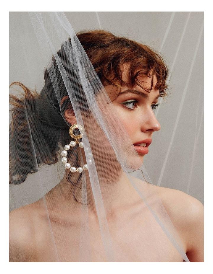 Elissa Pearl Hoops image 3