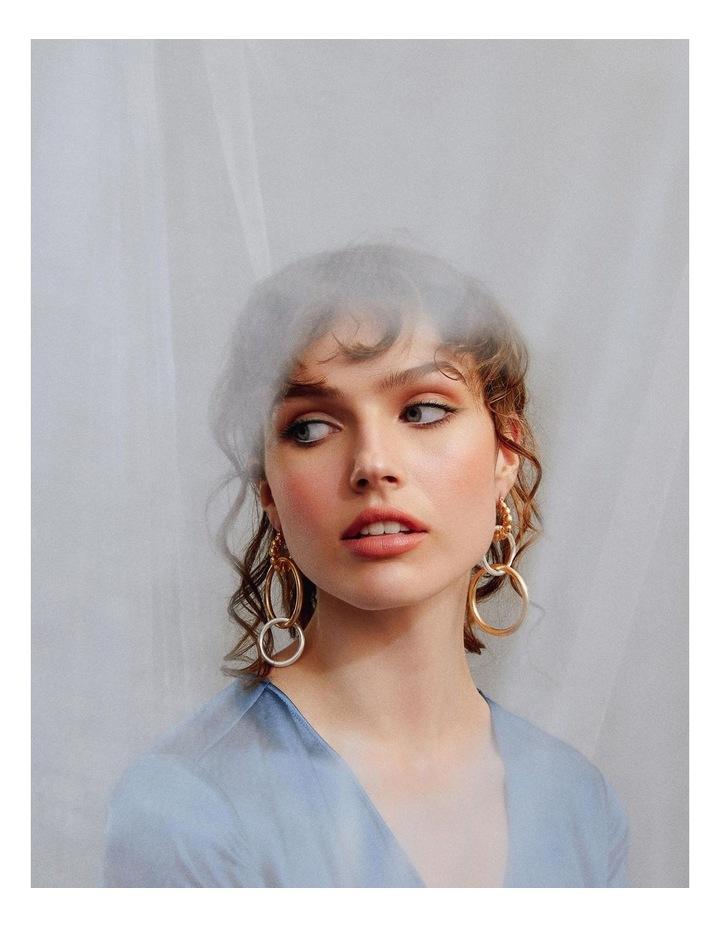 Leila Triple Drop Earrings image 4