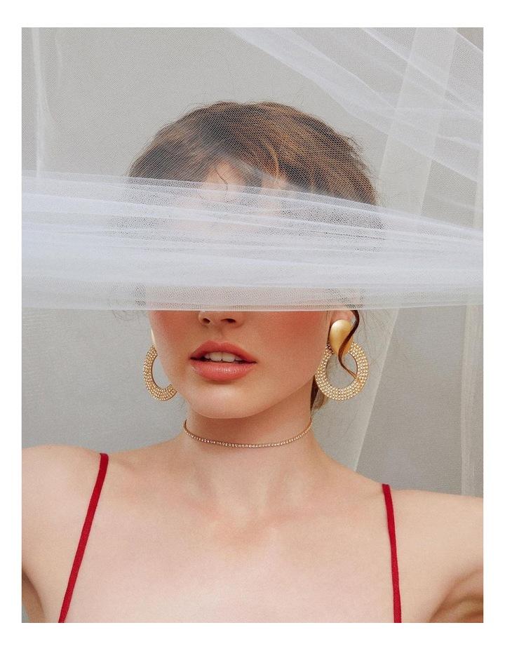 Jolie Crystal Hoops image 3