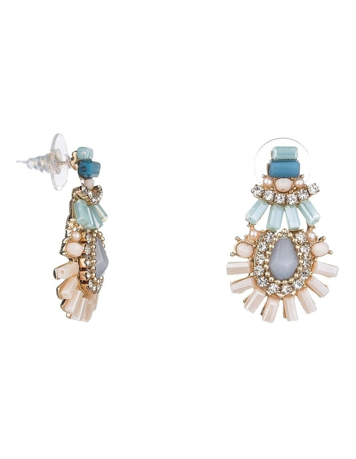 Cz And Bead Earring image 2