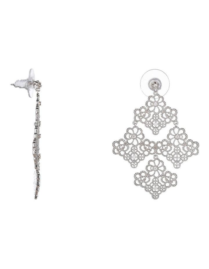 Large Filagree Earrings image 2