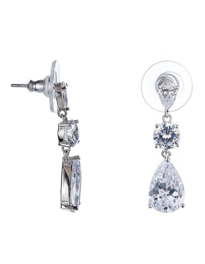 Cz Drop Earrings image 2