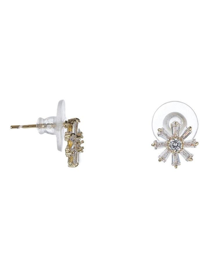 Flower Cz Earring image 2