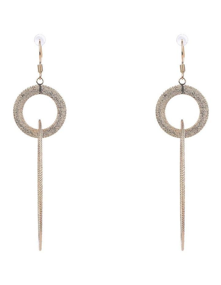Hoop Drop Earrings image 1