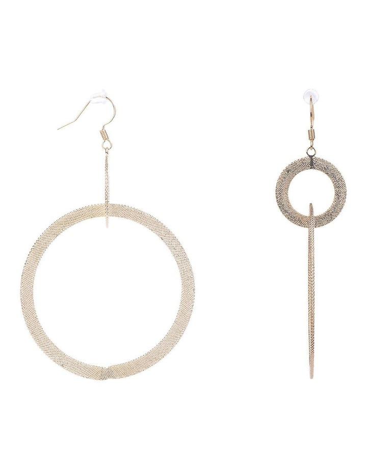 Hoop Drop Earrings image 2