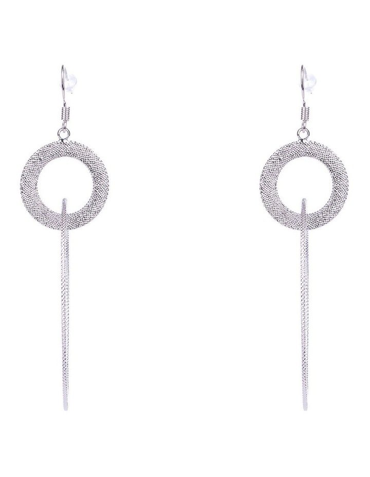 Hoop Drop Earrings image 1