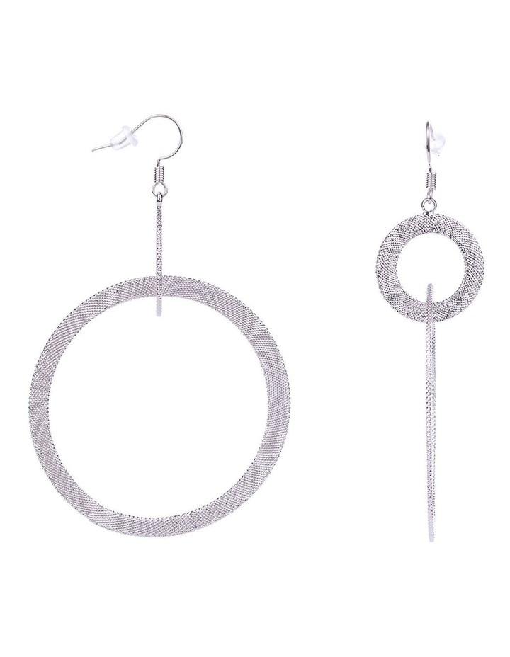 Hoop Drop Earrings image 2