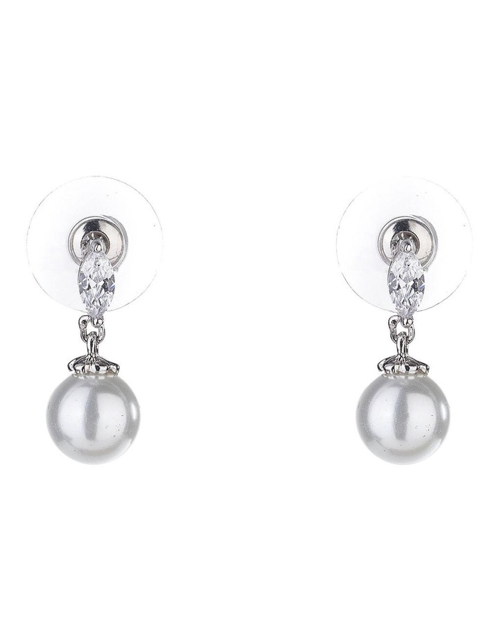 Drop Pearl Earrings image 1