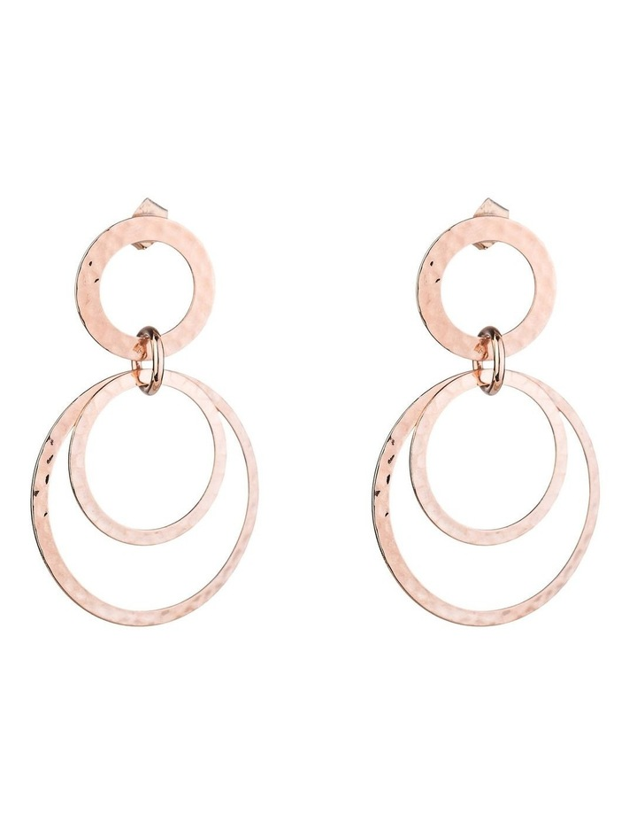 Circle Drop Earrings image 1
