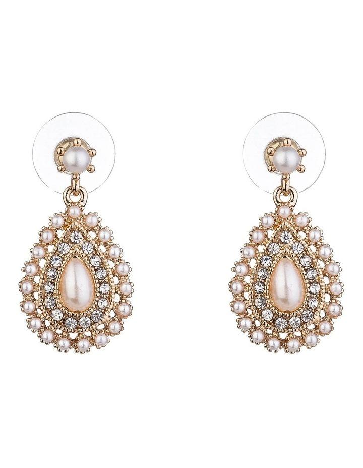 Mini Pearl Drop Earring image 1