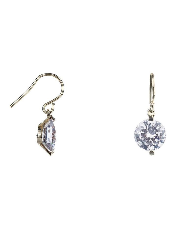 Cz Drop Hook Earrings image 2
