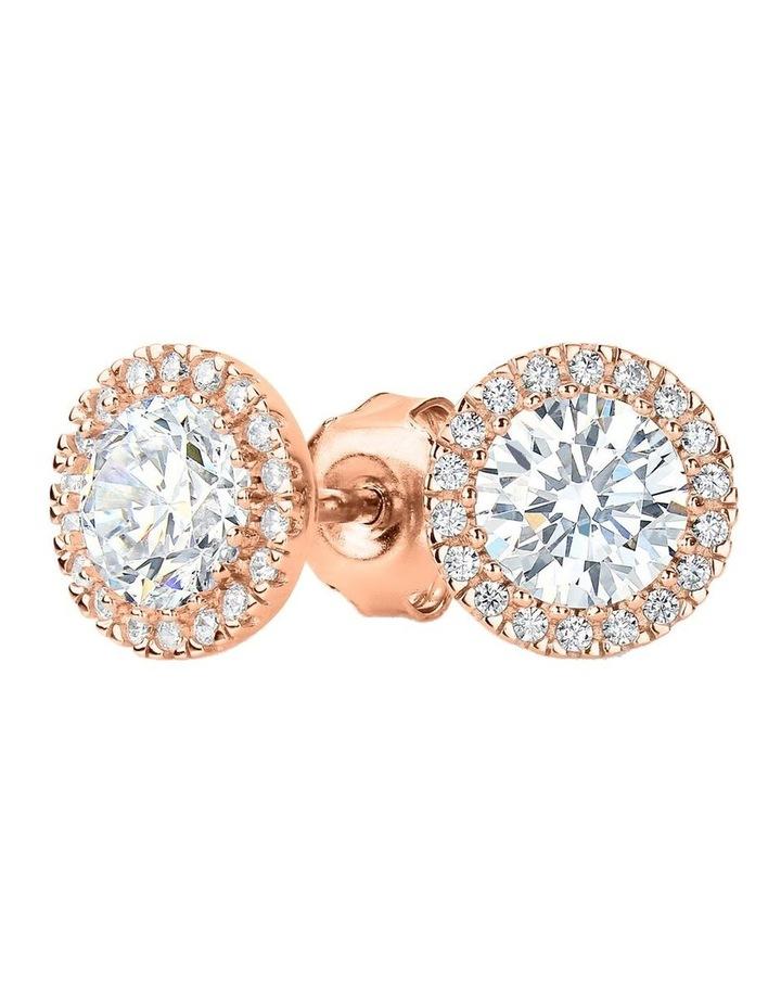 Yoyo Rose Gold Stud Earring image 1