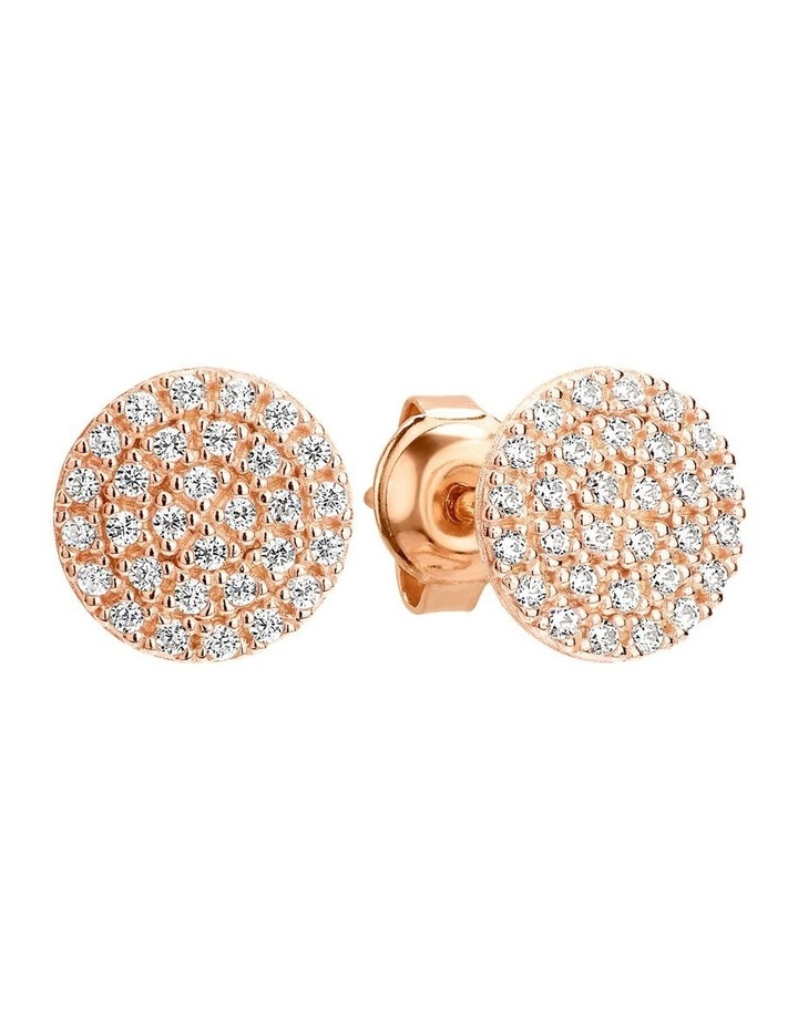 Pavo Rose Gold Earring image 1
