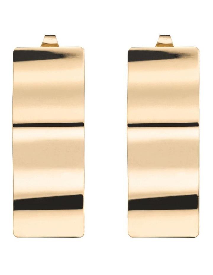 Lois Wave Charm Earring image 1