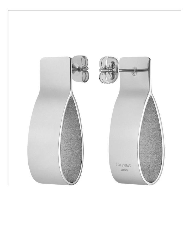 Lois Folded Charm Earring image 2