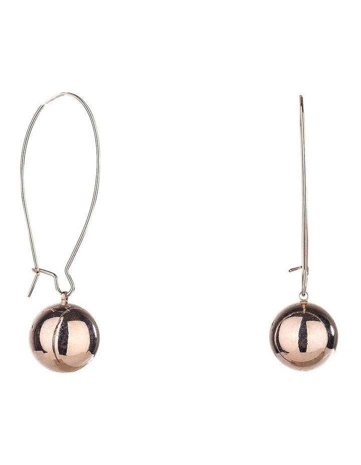 Single Ball Drop Earring image 2