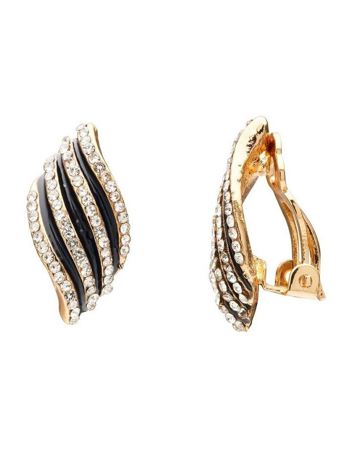 Textured Wave Earrings image 2