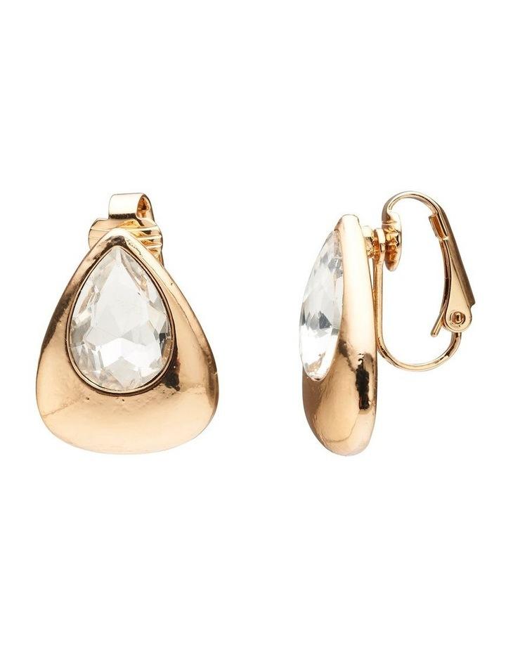 Crystal Pear Earrings image 2