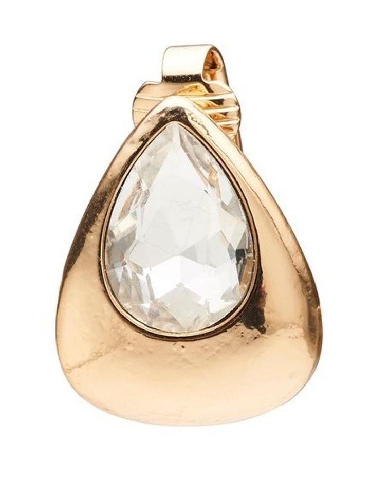 Crystal Pear Earrings image 3