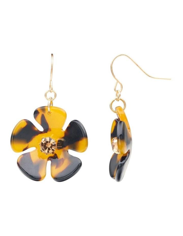 Resin Floral Earrings image 2