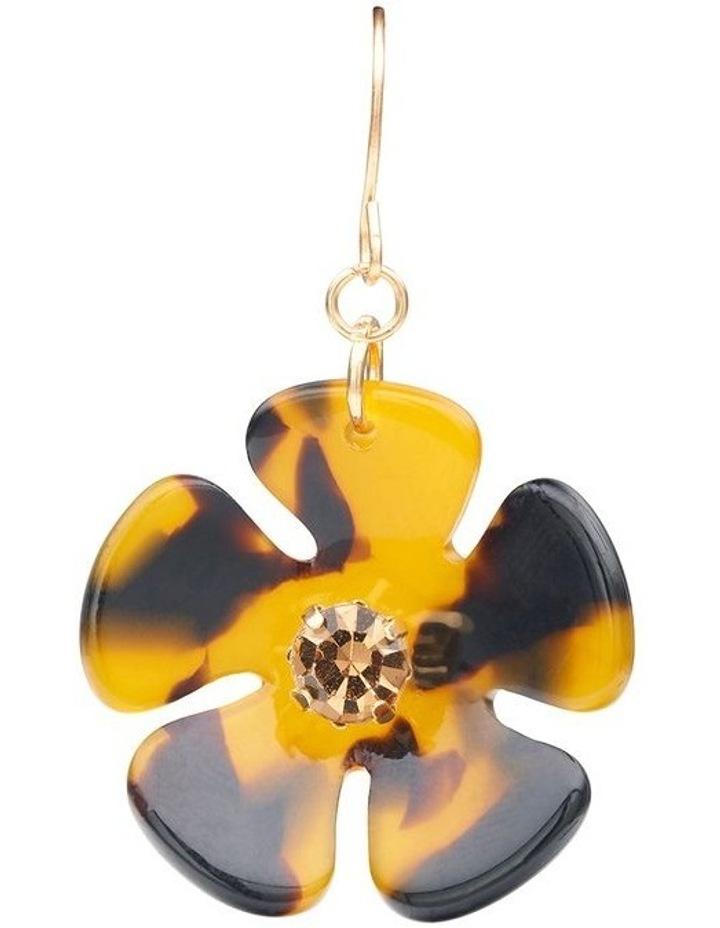 Resin Floral Earrings image 3