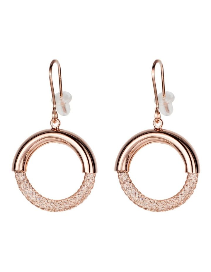 Drop Circle Earrings image 1