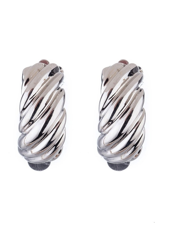 Textured Clip Earrings image 1