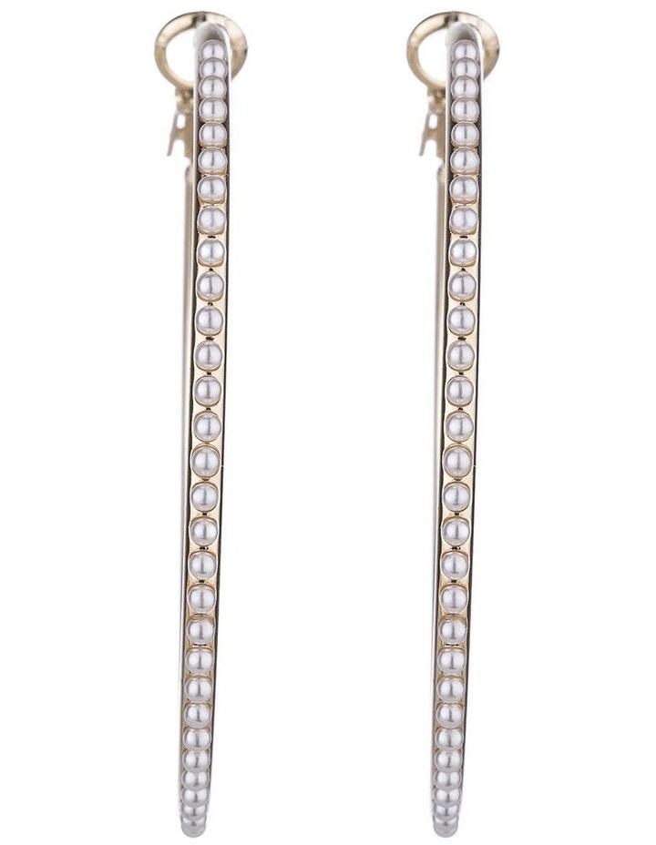 Large Hoops Earrings image 1