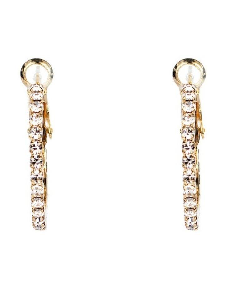 CZ Hoop Earrings image 1