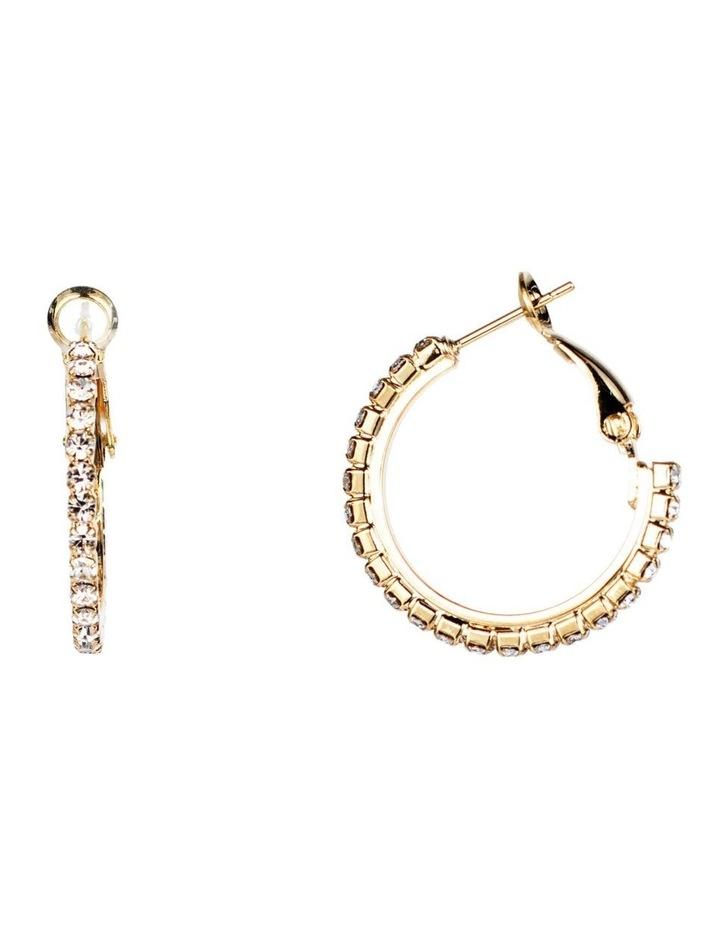 CZ Hoop Earrings image 2