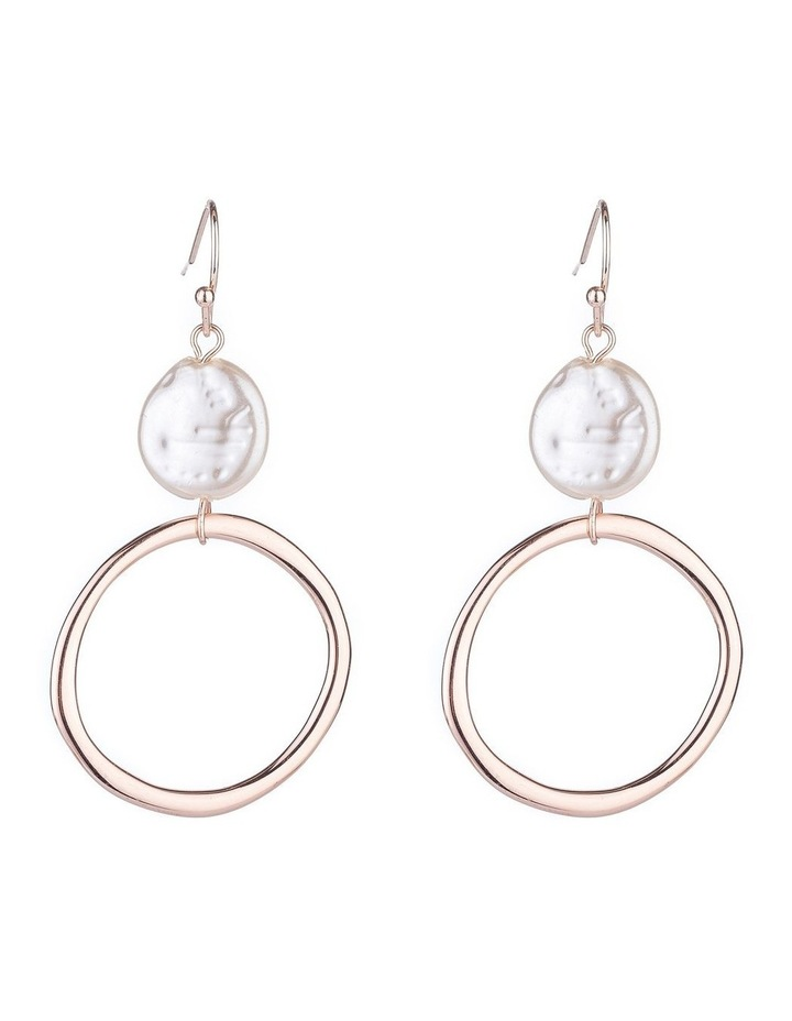 Drop Freshwater Pearl Earrings Earrings image 1