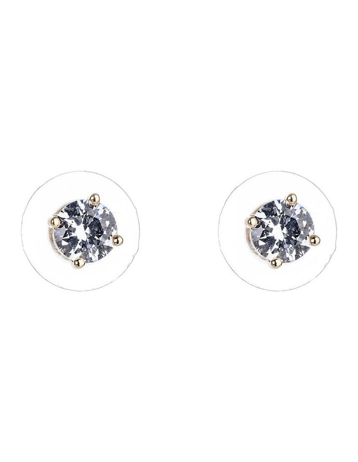 CZ Stud Earrings image 1