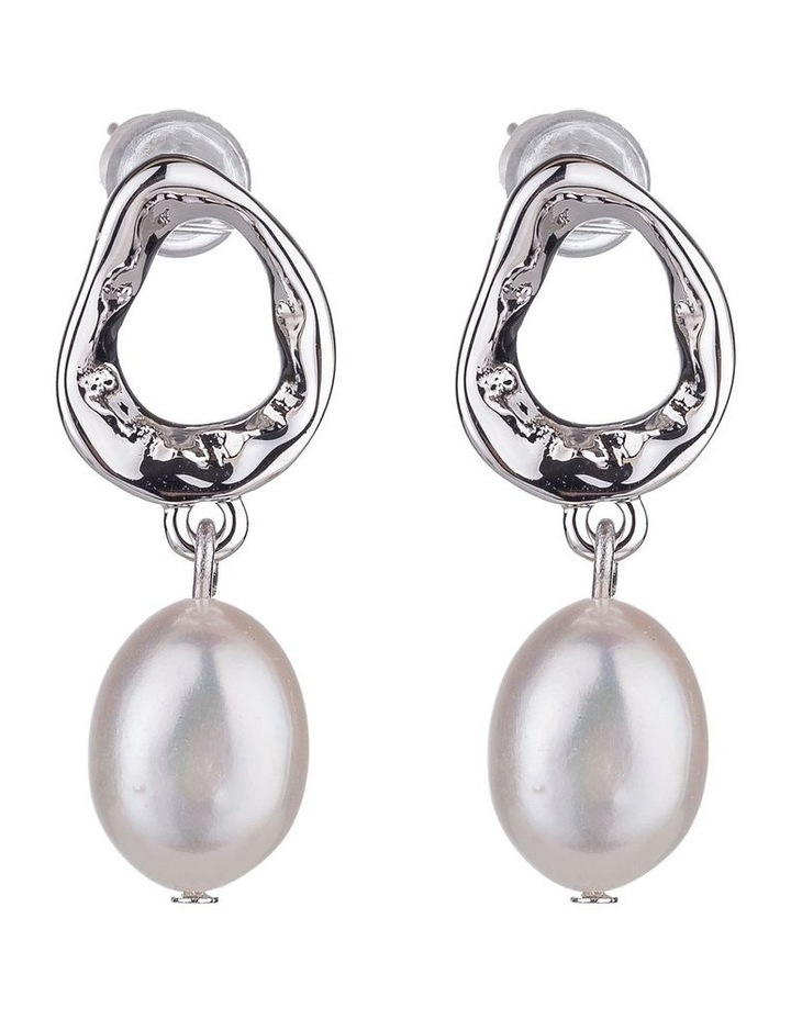 Drop Freshwater Pearl Earrings image 1