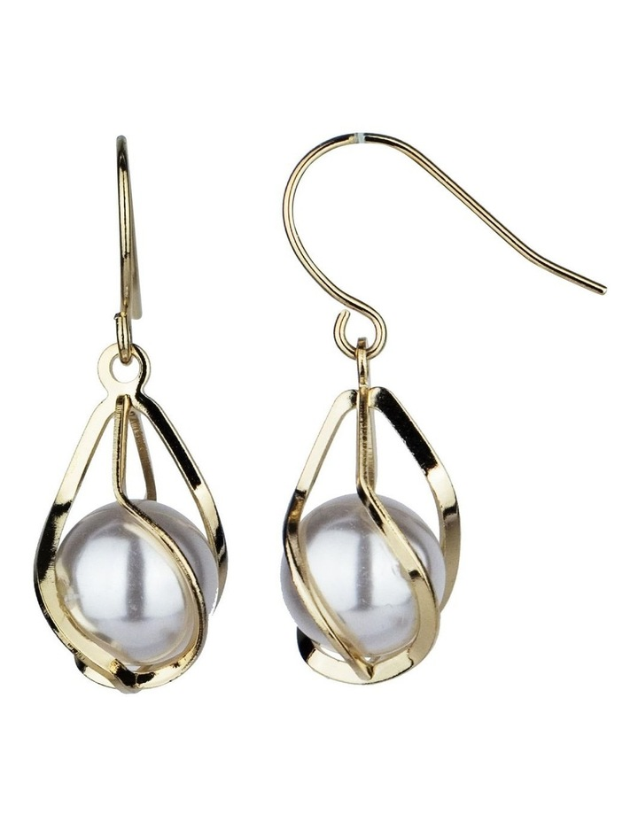Drop Pearl Earrings image 2