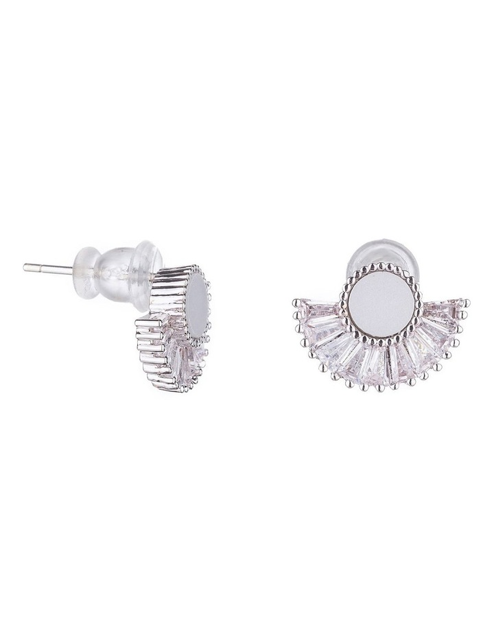 Art Deco Fan Earrings image 2