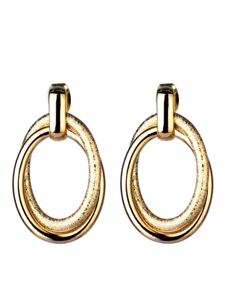 Oval Drop Earrings Earrings image 1